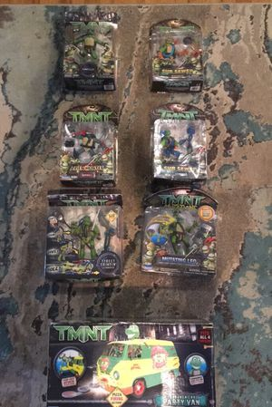 TMNT Collectable action figures for Sale in Parsippany-Troy Hills, NJ