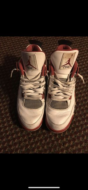 "25ee351bd6c7 2012 Air Jordan retro 4s ""fire red"" men s sz 12 MUST PICK UP NEAR"