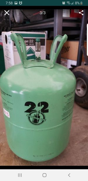 Freon r22 30lbs new $280.00 obo for Sale in Glendale, AZ