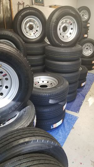TRAILER TIRES AND WHEELS STARTING AT $70+ TAX for Sale in Douglasville, GA