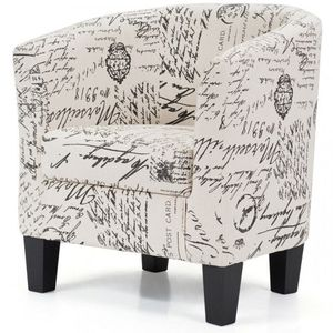 Barrel Accent Linen Fabric Upholstered Chair Tub Chair for Sale in Palmdale, CA