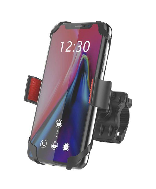 Bike Mount, IPOW Universal Cell Phone Bicycle Rack Handlebar & Motorcycle Holder Cradle