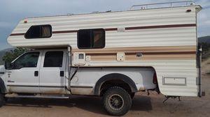 Lance camper fits long bed like larger truck like f250 for Sale in Del Sur, CA