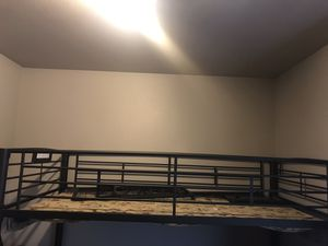 bunk bed with futon/seat on the bottom for Sale in Orem, UT