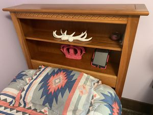 Twin bed set (head board, frame and dresser for Sale in Farmington, MN