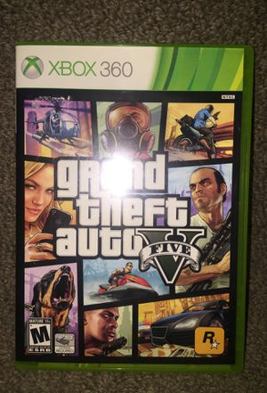 """""""Grand Theft Auto 5"""" for Microsoft Xbox 360 - Disc1(Very Good Condition!), Disc2 (Fair Condition) for Sale in Phoenix, AZ"""