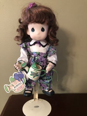 """Precious Moments 12"""" February doll """"Violet"""" 1995 for Sale in Flemington, NJ"""