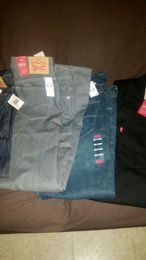I have 4 pair of Levi I'm selling for 150 size 36 34 for Sale in Detroit, MI