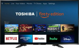 Toshiba 55-inch Smart 4K UHD with Dolby Vision - Fire TV Edition, Released 2020 for Sale in Denver, CO
