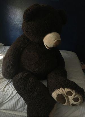 Big stuffed bear for Sale in Escondido, CA