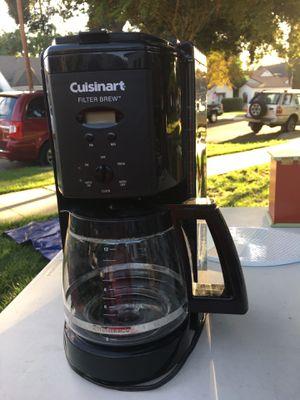 Cuisinart 12 cup coffee maker for Sale in San Bernardino, CA