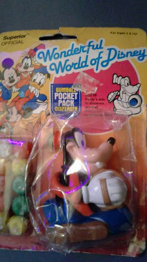Vintage Disney pocket pack gumball for Sale in Concord, CA