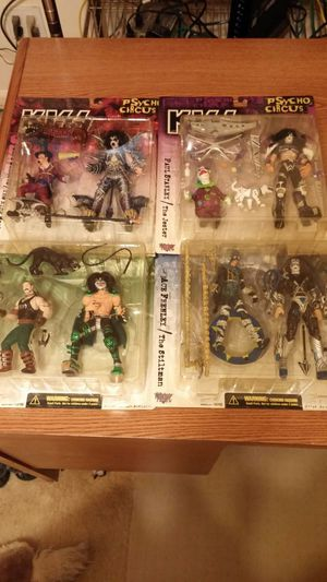 Kiss action figures and cars for Sale in Murfreesboro, TN