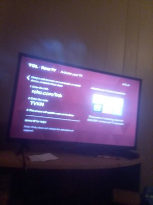 Tcl roku smart tv 32 inch for Sale in New Iberia, LA
