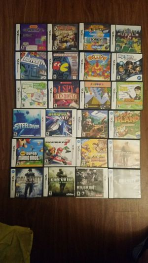 Nintendo ds games for Sale in San Diego, CA