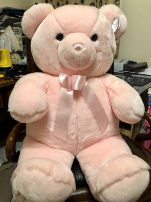 3 ft tall baby girl pink stuffed toy-teddy bear for Sale in Kennesaw, GA