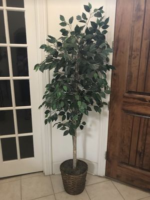 7 Ft Artificial Decoration Fake Display Tree Plant for Sale in Lewisville, TX