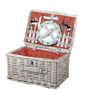 English Style Deluxe Picnic Basket for Sale in City of Industry, CA