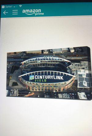 Seahawks CENTURY LINK Stadium Canvas print for Sale in Edgewood, WA