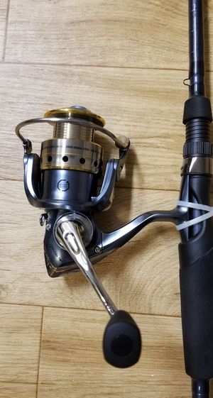 Pflueger President Reel with Tourney Trail Rod for Sale in Seattle, WA