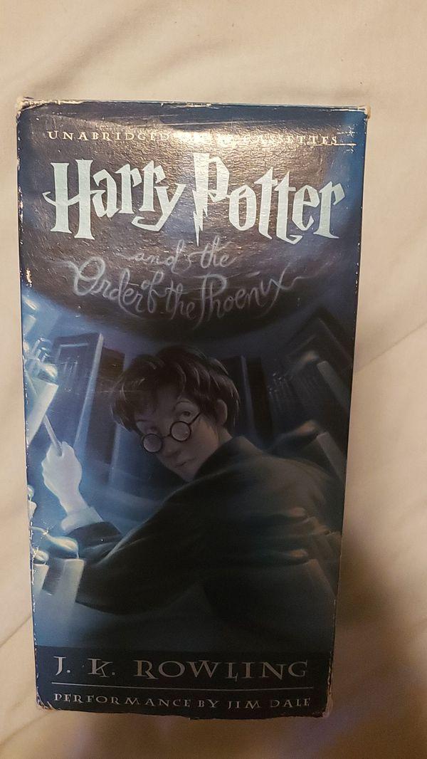 Harry Potter Cassettes