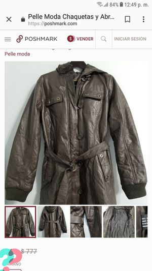 leather coat XL for Sale in Adelphi, MD