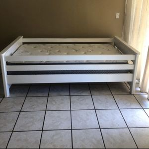 Twin Bed And Mattress for Sale in Peoria, AZ