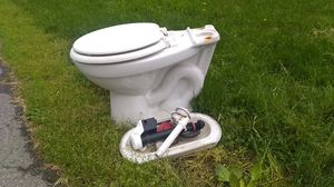 FREE Toilet bowl, seat, and tank parts for Sale in Columbus, OH