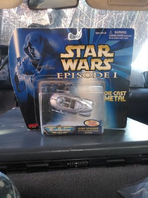 2 star wars collectible toys for Sale in Phoenix, AZ