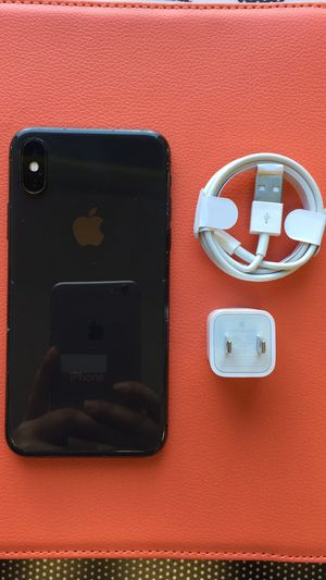 iPhone X unlocked with store warranty for Sale in Somerville, MA