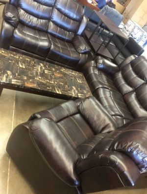 I Furniture three-El Rio furniture finance available down payment $39 1456 belt line rd suite 121 Garland tx 75044 Open from 10am-6pm for Sale in Garland, TX