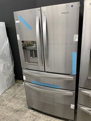 Whirlpool 4 door in stainless steel new open box for Sale in Moreno Valley, CA