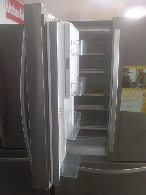 Whirlpool stainless steel french door refrigerator home and kitchen appliances