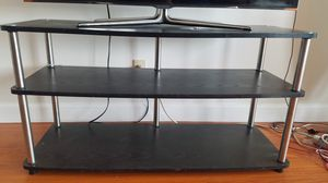 Black Wooden Table/TV Stand for Sale in West Los Angeles, CA