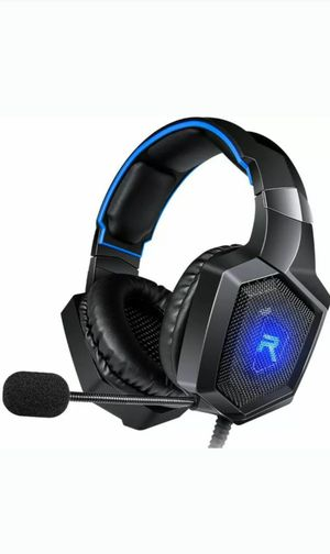 RUNMUS GAMING HEADSET K8 XBOX PS4 PC for Sale in Leicester, MA