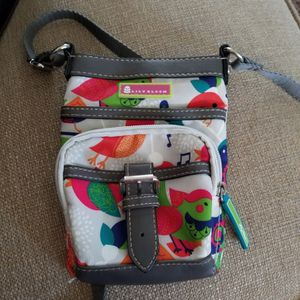 Lily Bloom Small Cross Body Gray Leather Bag $6 for Sale in Riverside, CA
