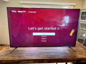 65 TCL 4K Roku Smart TV 6 Series for Sale in West Covina, CA