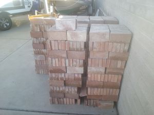 1000 Red Paver Bricks (4x8x1.5) for Sale in Tucson, AZ