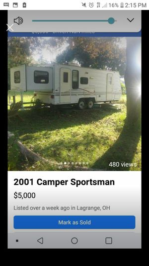 2001 sportsman camper ultralite for Sale in LaGrange, OH