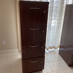Wooden File Cabinet for Sale in Irvine, CA