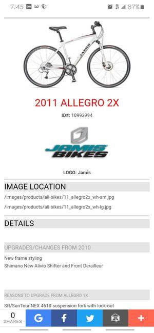 Jamis Allegro 2x suntour bike for Sale in Houston, TX