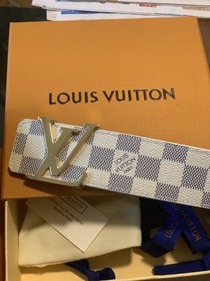 Louis Vuitton Belt Damier Azur for Sale in Philadelphia, PA