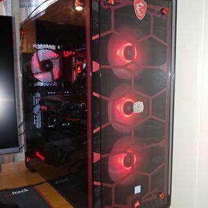 Gaming Desktop Computer NVIDIA GTX 1080 Ti + i7 8700k for Sale in San Rafael, CA