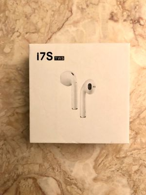 i7s TWS Earphones Dual Wireless Twins Bluetooth Earbuds for Sale in Wilton, CT