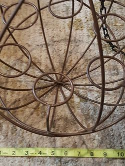 12 Inch Diameter Hanging Candle Holder Sphere for Sale in Arlington,  WA