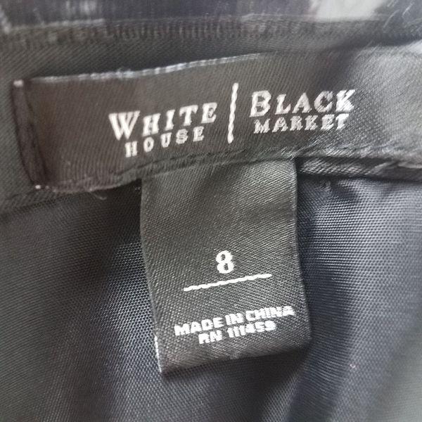 Black Cocktail Dress with Belt (1022864)