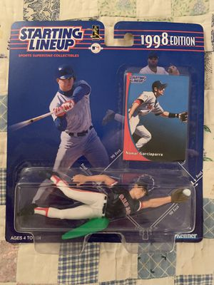 Starting Lineup NOMAR GARCIAPARRA 1998 Edition Kenner Action Figure *NEW* for Sale in Tinton Falls, NJ