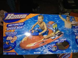 Motorized Inflatable Speed Boat for Sale in Phoenix, AZ