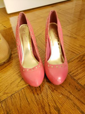 Heels pink 8.5 for Sale in Washington, DC