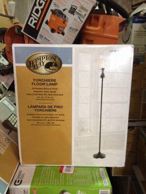 Hampton Bay floor lamp Torchiere for Sale in Phoenix, AZ